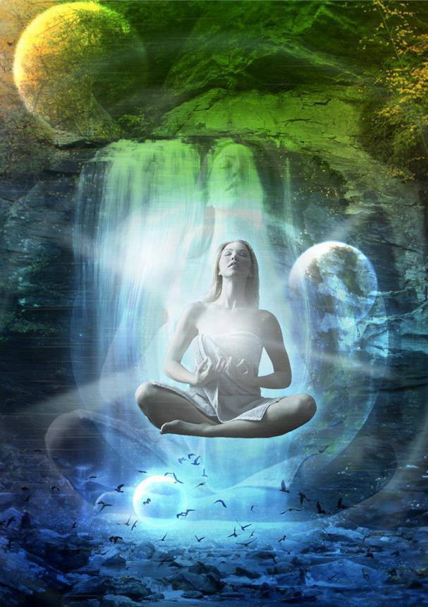 Image result for meditation fantasy art