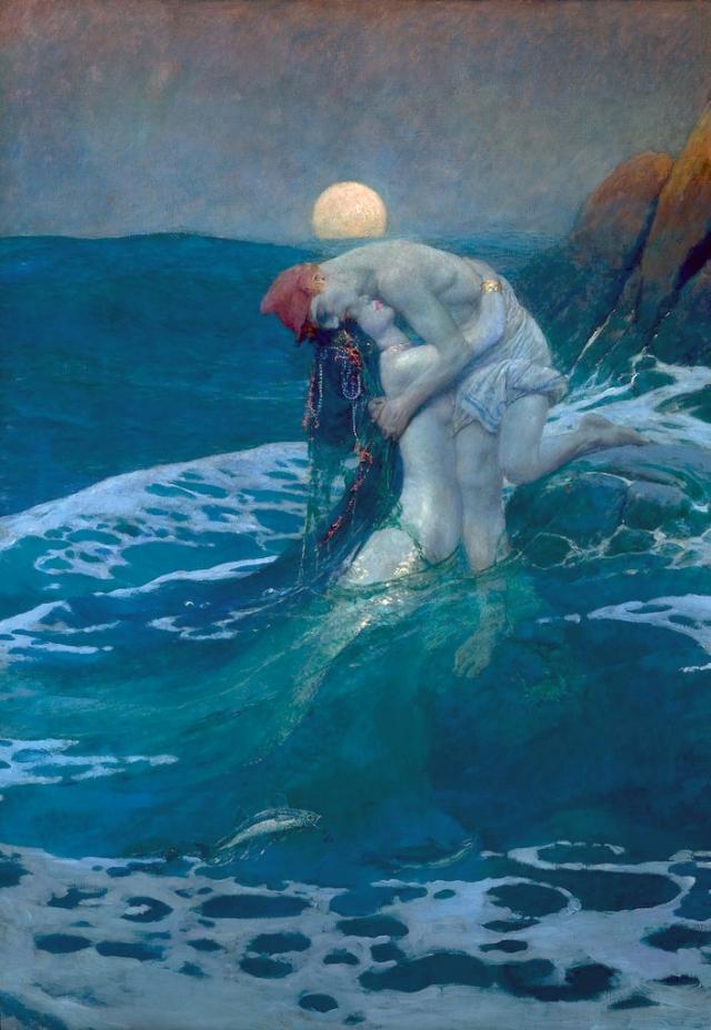 The+Mermaid+1910.+Howard+Pyle