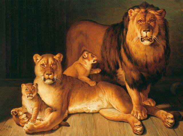 a-pride-of-lions-jean-baptiste-huet